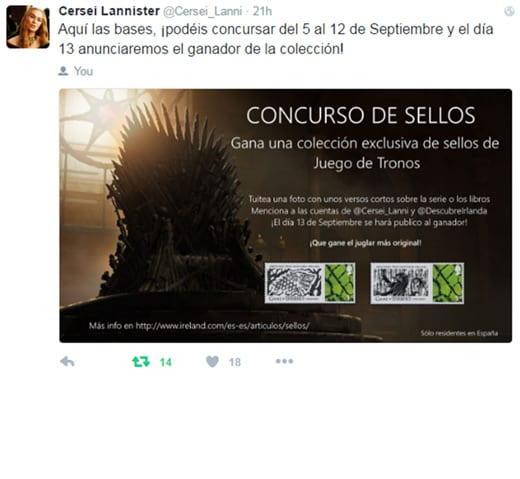 Influencer Marketing - Games of Thrones - Digitally Strategy