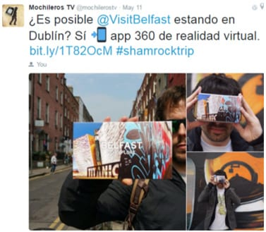 Influencer Marketing - Promoting Belfast in Spain - Digitally Strategy